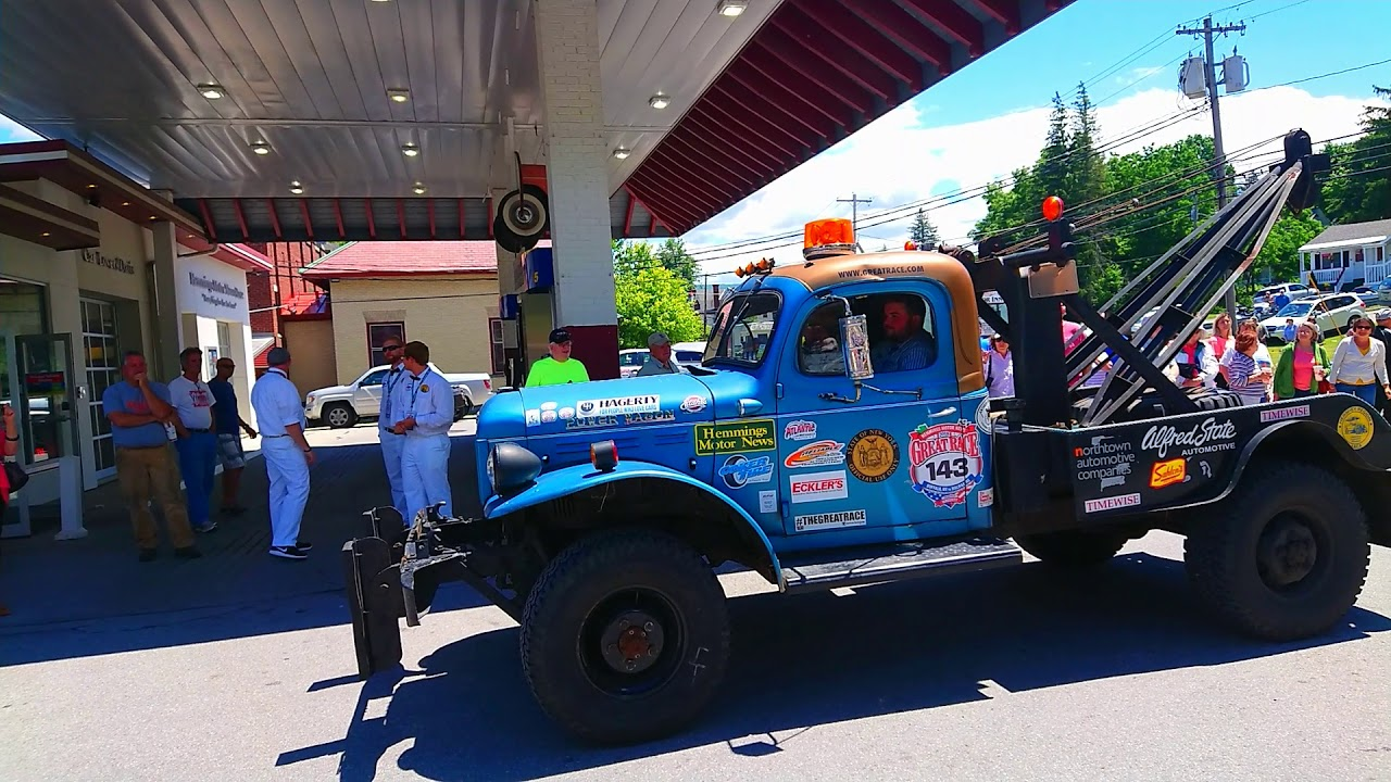The Great Race June 25th 2018 lunch break at Hemmings Motor News ...