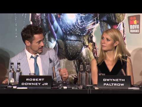 Iron Man 3 | meet the press London (2013) Robert Downey Jr.