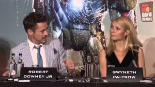 Iron Man 3 | Meet The Press London (2013) Robert Downey Jr.