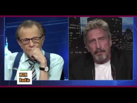 McAfee explains why the claim of Russian hacking the DNC is obviously false