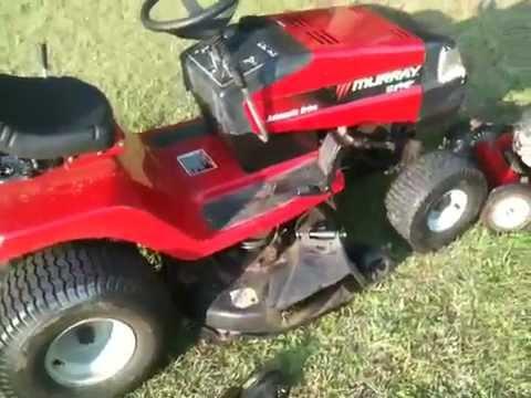 murray riding mower