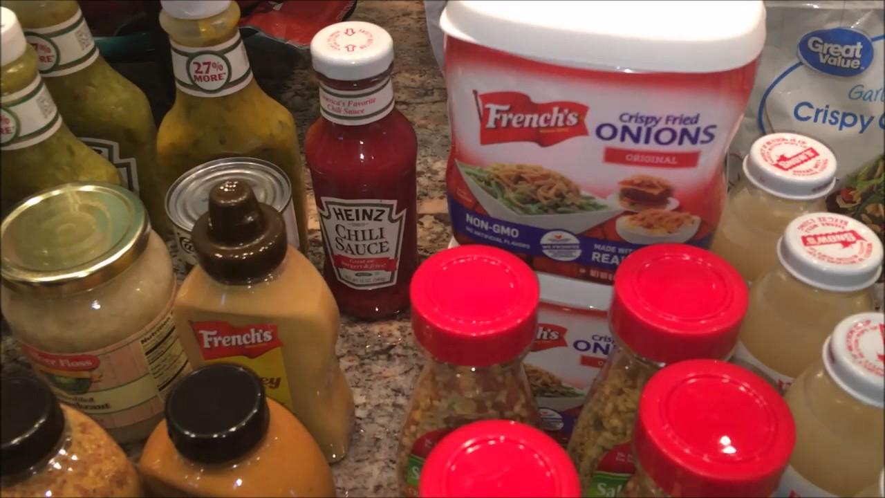 Large Walmart Grocery Haul | $460.00 | April 7, 2017 - YouTube