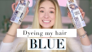 L'Oréal Colorista Wash Out LIVE TEST - How I ruined my hair