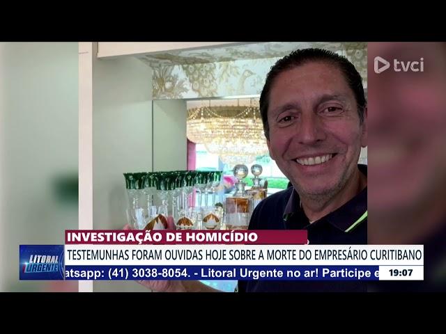 INVESTIGAÇÃO DE HOMICÍDIO