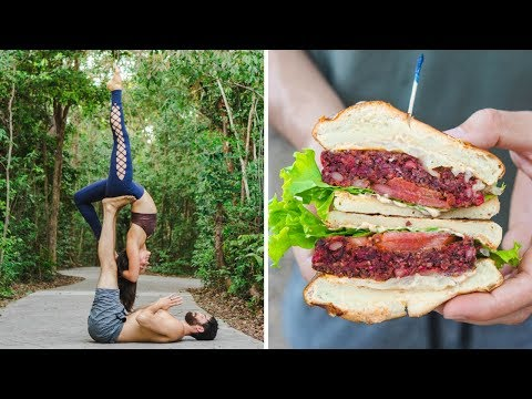 What I Ate + Did Last Weekend! // Yoga + Farmer's Market