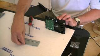 How to Install a Hard Drive in a 16 Channel DVR