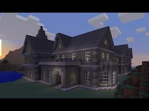 Come costruire una bella casa su minecraft 1 tutorial for Come costruire una villa