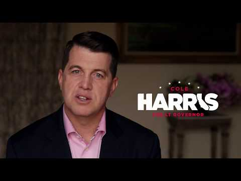 Cole Harris for Lt. Governor Of California 2018