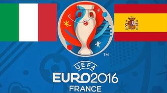 FIFA 16 EM-PROGNOSE #43 - ACHTELFINALE: ITALIEN : SPANIEN