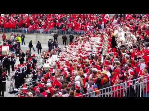Ohio State Band & Fans