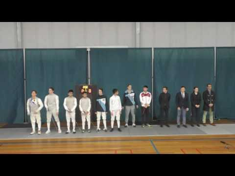 Cadet Nationals Mens Foil FINALS