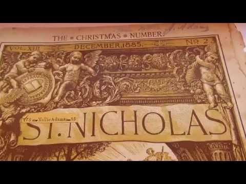 1885 St. Nicholas Christmas Book/Magazine-Auction Find #254