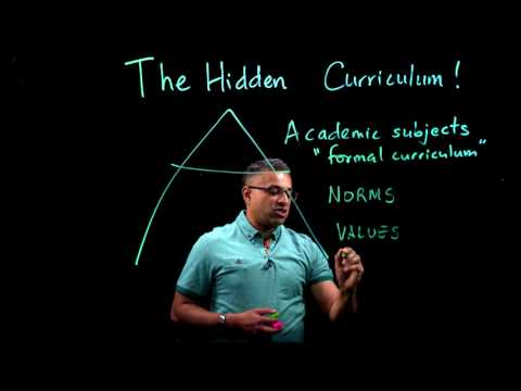 The Hidden Curriculum | Part 1 Of 2: Norms, Values And Procedures