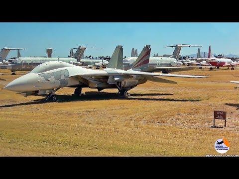 AMARG - The Boneyard | 4000 stored military aircraft