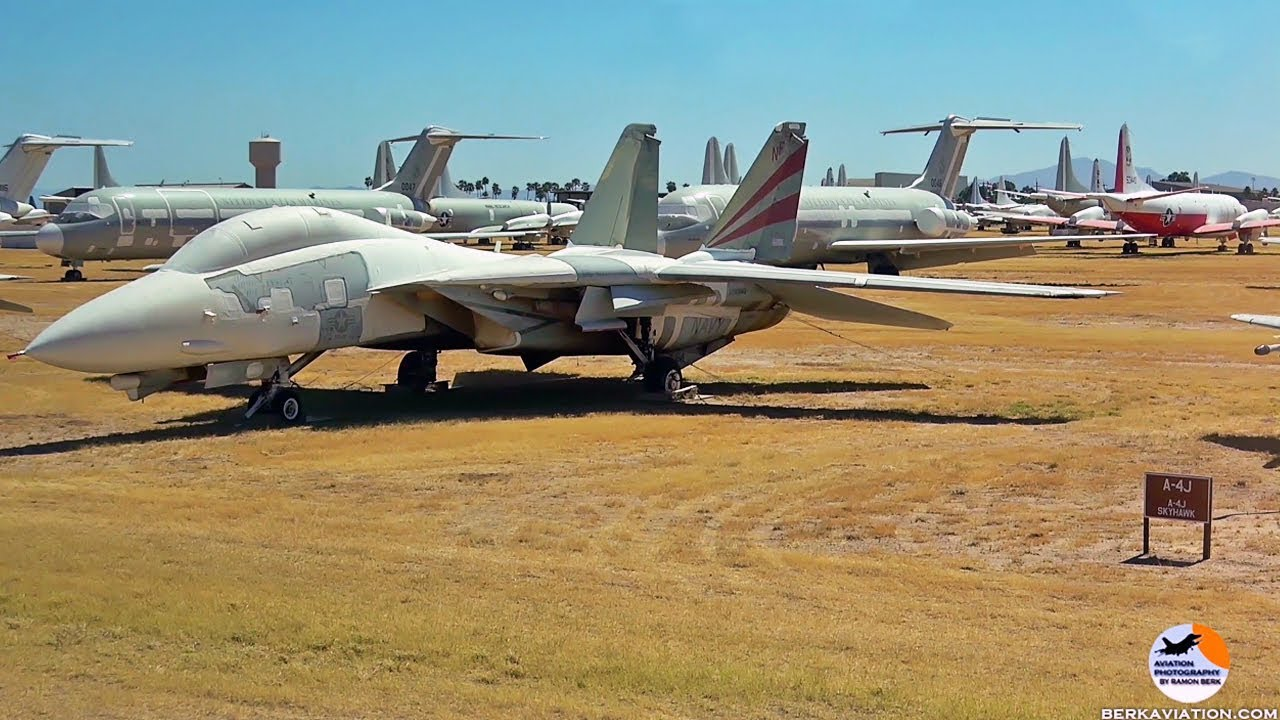 Download AMARG - The Boneyard | 4000 stored military aircraft