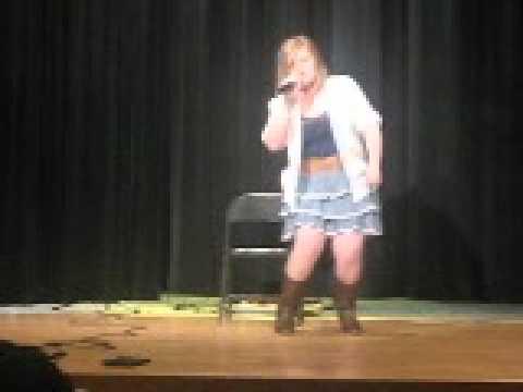 Harrisburg Middle School Talent show Emilee Mcintare Part 2