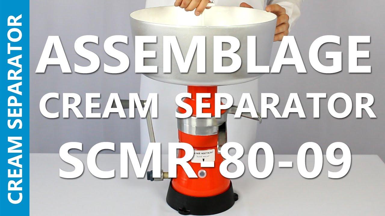 MILK CREAM MANUAL SEPARATOR CENTRIFUGAL MACHINE METAL 80L//H MOTOR SICH 80-09