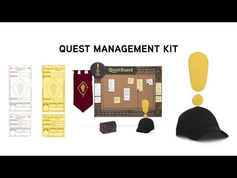 Quest Management Kit from ThinkGeek