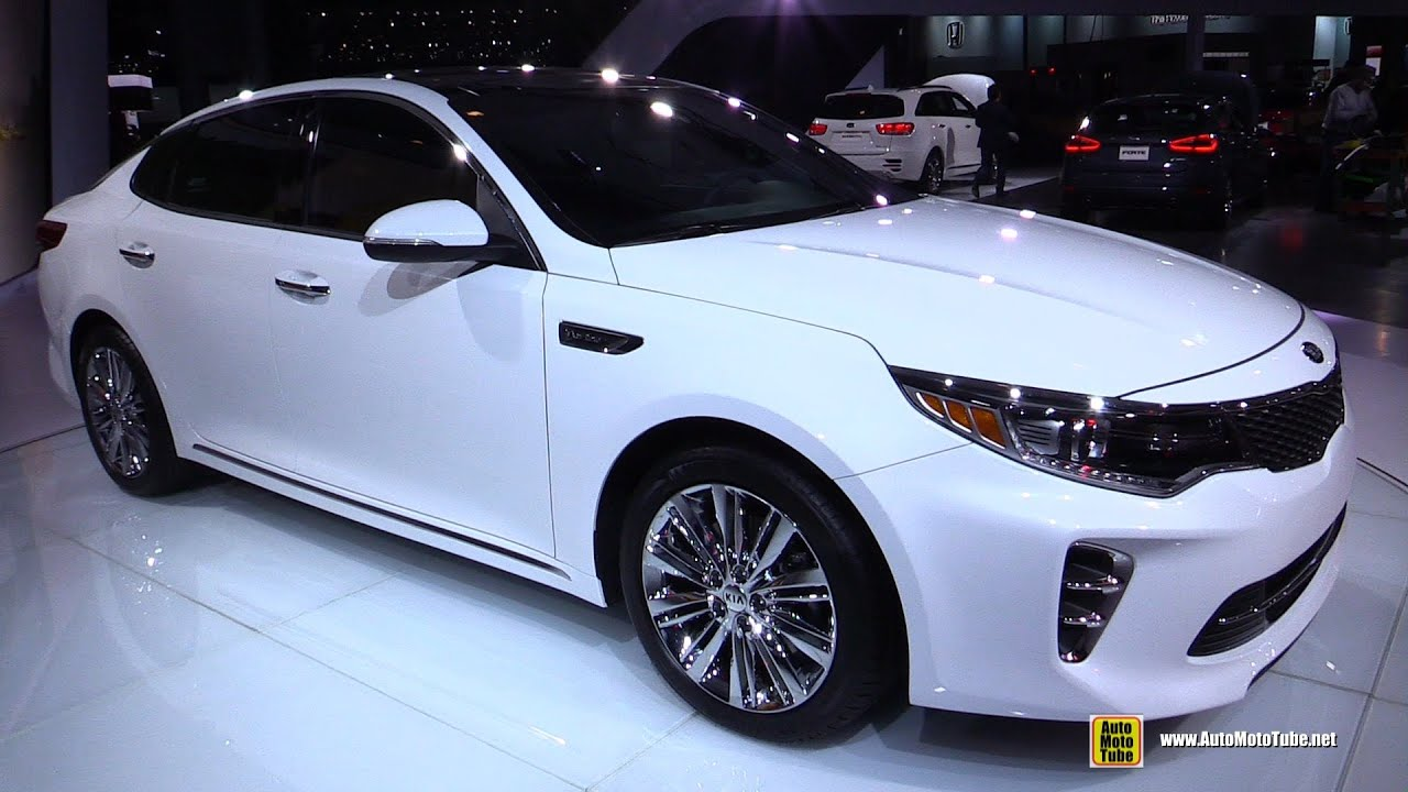 2016 kia optima sxl exterior and interior walkaround debut at 2015 new york auto show youtube. Black Bedroom Furniture Sets. Home Design Ideas