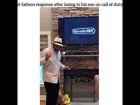 Jake Dill - A Father's Response After Losing to His Son in Call of Duty