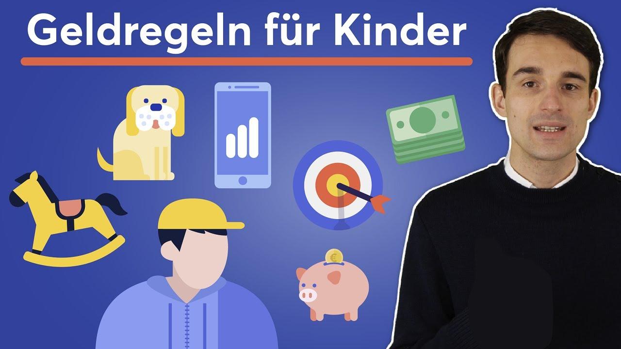 5 Geld-Lehren für Kinder: Den richtigen Umgang mit Geld lernen!