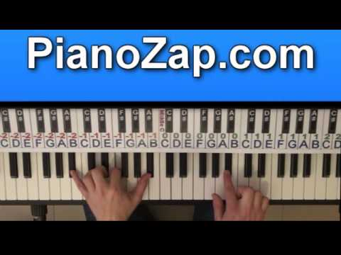 How To Play Already There - John West On Piano Tutorial