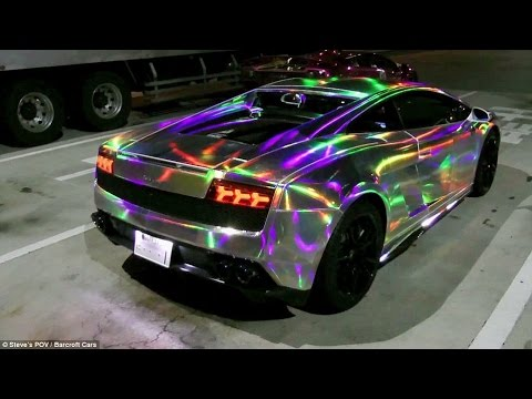 Top 5 Paintjobs Amp Wraps Cars Youtube