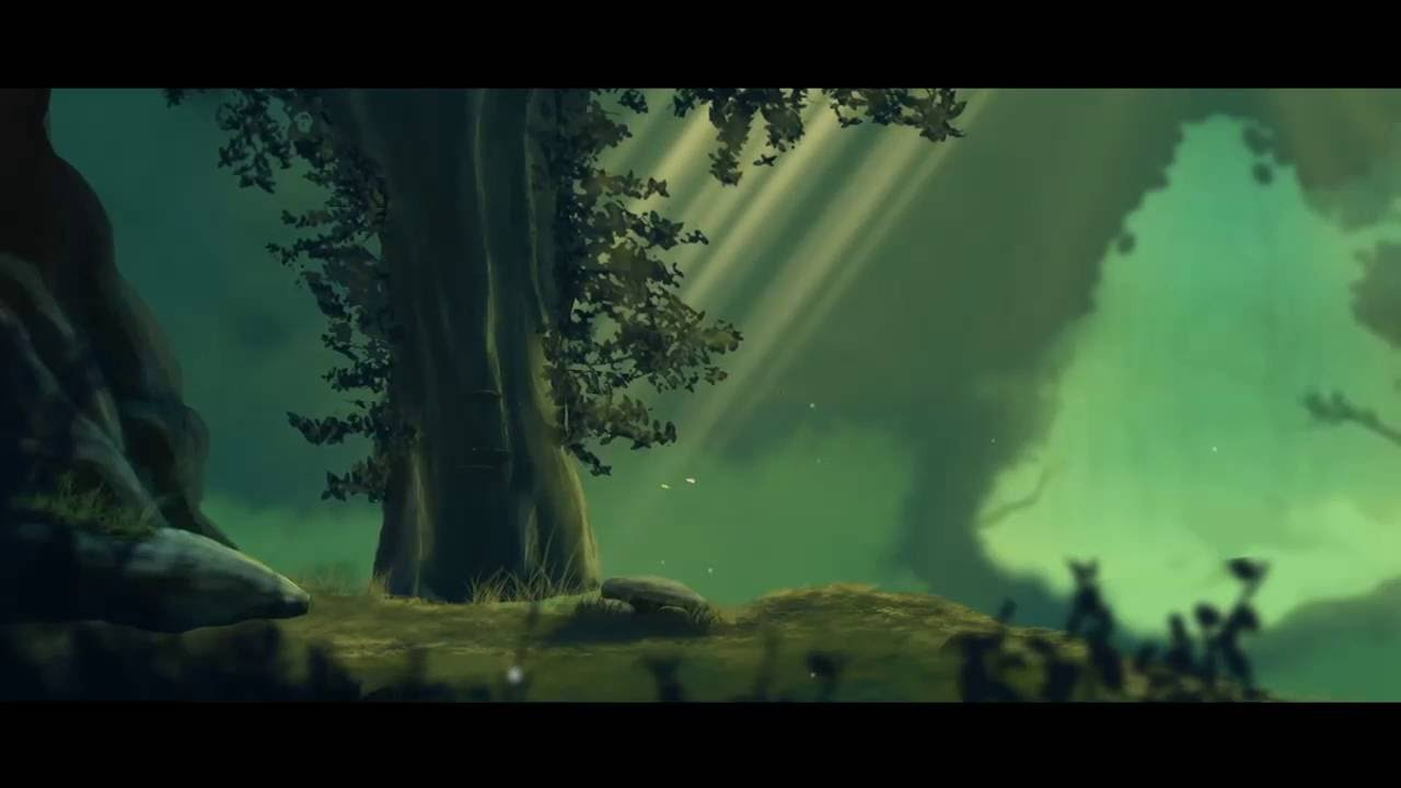 Animated forest background - YouTube - photo#11