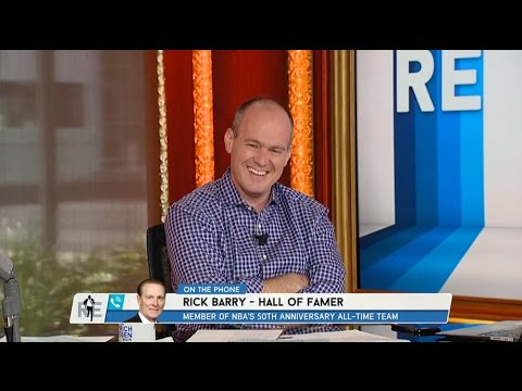 Hall of Famer Rick Barry Talks LeBron James & Stephen Curry on The RE Show - 5/29/15