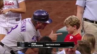 MLB   Fan Interactions