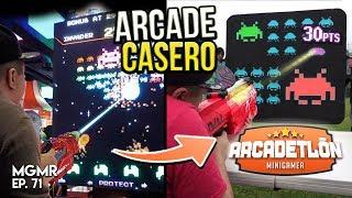Jugando Máquinas Caseras (ARCADETLÓN)- MiniGames en el Mundo Real Ep. 71
