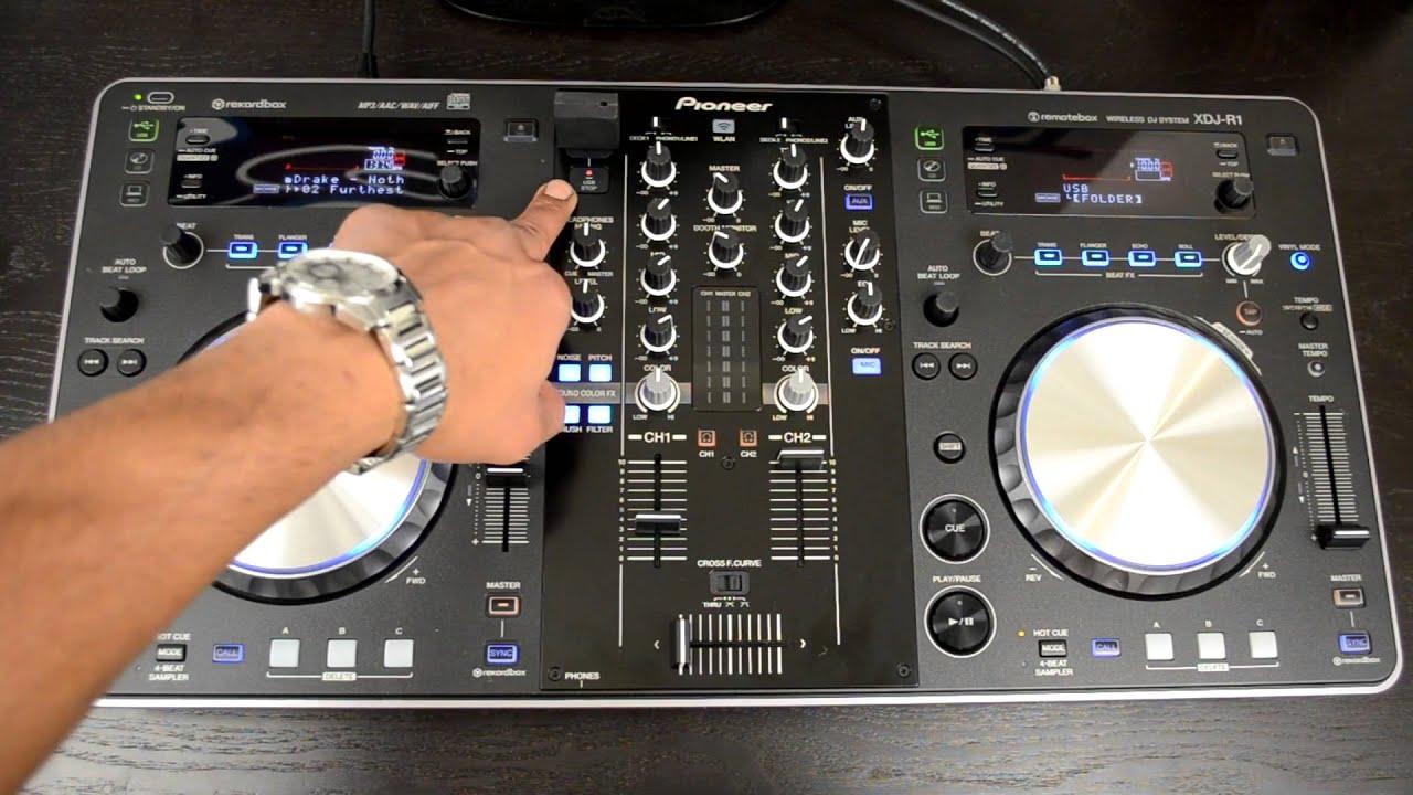 DJ Pioneer XDJ-R1