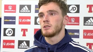 McArthur and Robertson reflect on Lithuania draw