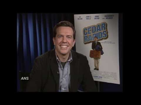 ED HELMS CEDAR RAPIDS FEATURE INTERVIEW