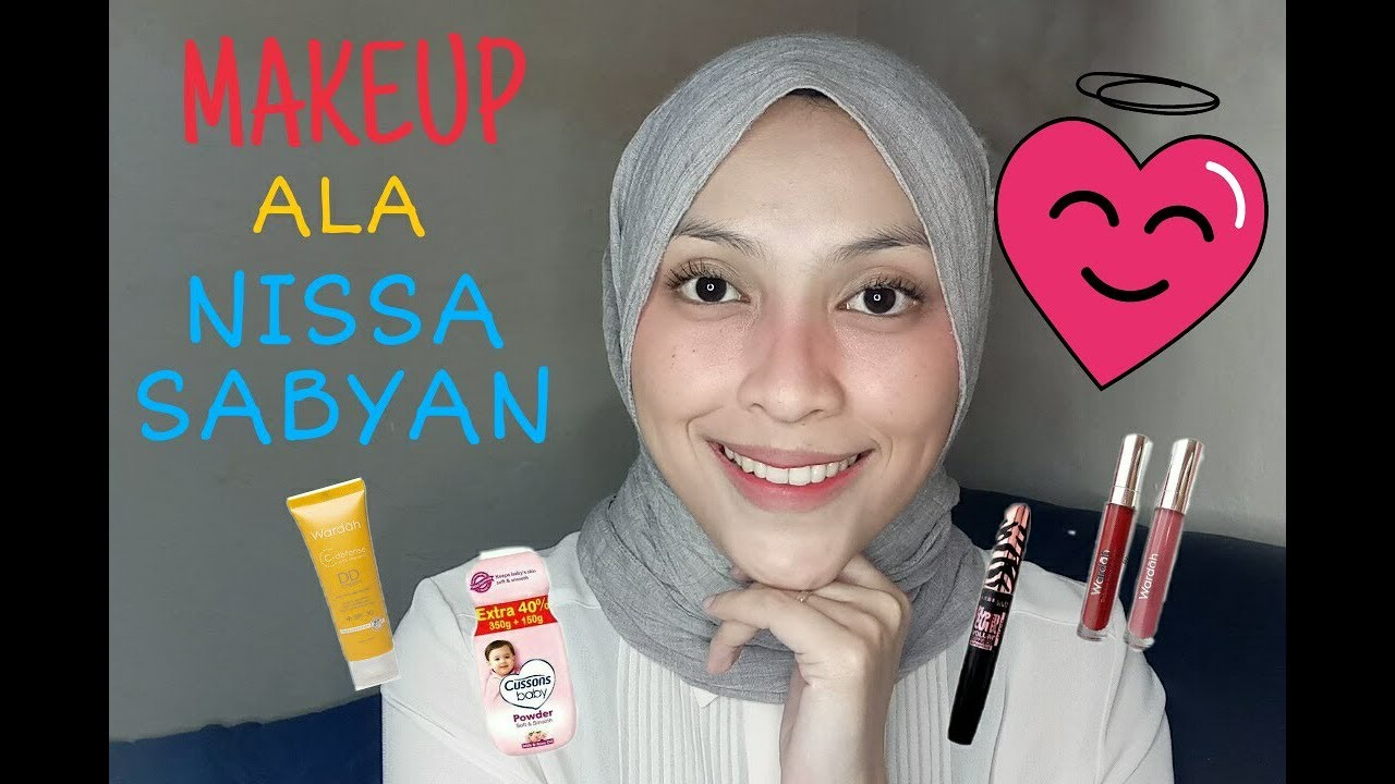 tutorial makeup ala nissa sabyan gambus - pagebd
