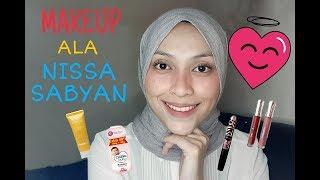 Tutorial Makeup Ala Nissa Sabyan Pake Produk Lokal Murah