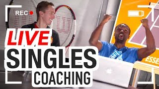 LIVE Singles Strategy Coaching