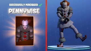 PENNYWISE SKIN IN FORTNITE? | Fortnite Battle Royale Gameplay PART 3