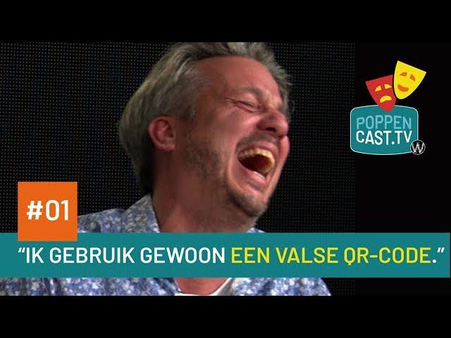 Poppencast.tv #01 - Ik gebruik gewoon een valse QR-code