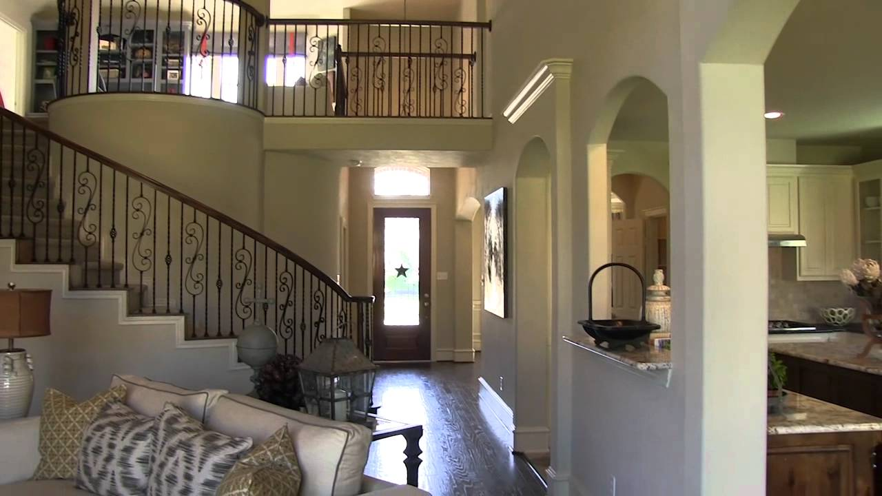 First Texas Homes in Auburn Lakes  YouTube