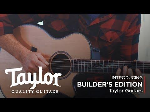 Taylor K14ce Builder's Edition - Kona Burst with V-class Bracing
