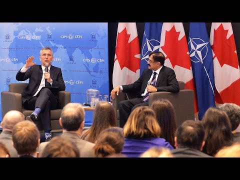 NATO Secretary General at University of Ottawa Town Hall event, 04 APR 2018, Part 2 of 2