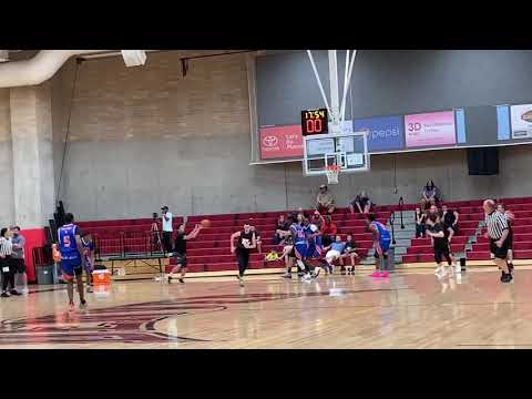 Angelo Padilla (Fr.) #3 University of Denver High School Varsity Team Camp Summer 2019