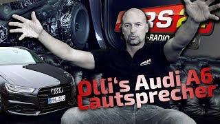 Audi A6 (4G) Competition   Lautsprecher Einbau & Dämmung   PART 4