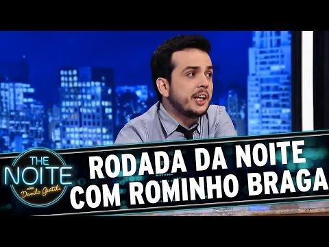 The Noite (13/08/15) - Rodada Da Noite Com Marcela Leal E Rominho Braga, Com Aniversário De Murilo