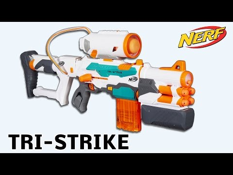Nerf Modulus Tri-Strike - Review und Test | Magicbiber