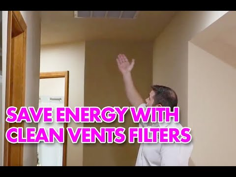 Tip for your Vent Filters   Boise Home Energy Audit