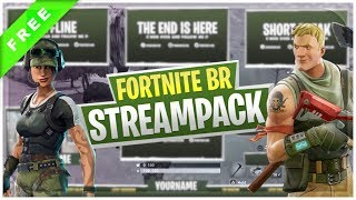 Fortnite Battle Royale Stream Pack + Download grátis