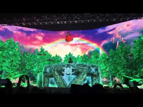 EXCISION - The wonky song LIVE TRIPPY!