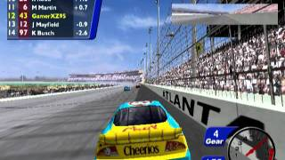 nascar heat 2002 ps2 gameplay